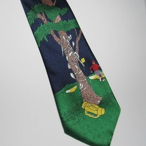 Headed to the 19th Hole Golf Necktie